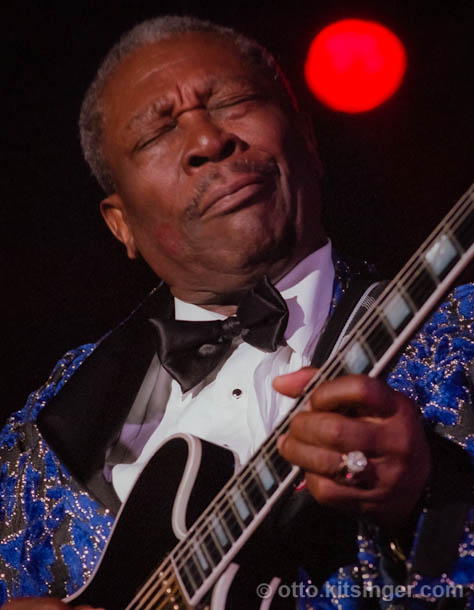 Live concert photo of B.B. King