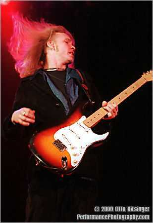 Live concert photo of Kenny Wayne Shepherd
