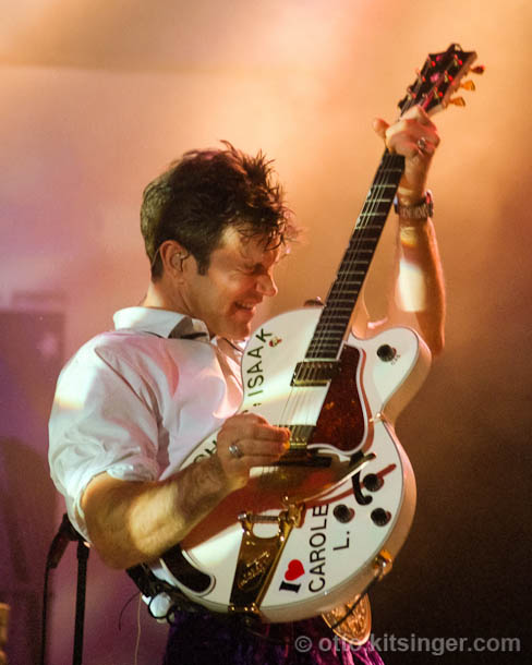 Live concert photo of Chris Isaak