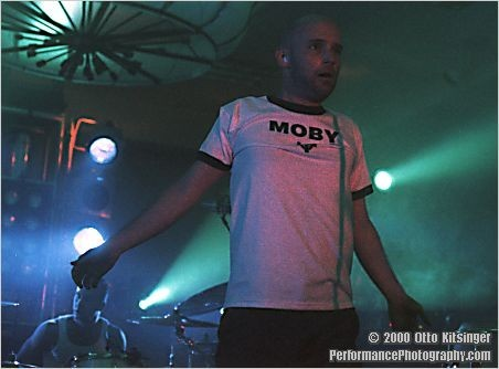 Live concert photo of Moby