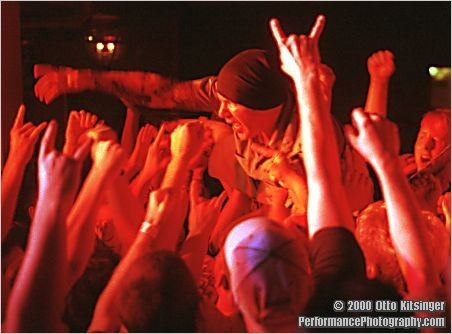 Live concert photo of Agnostic Front