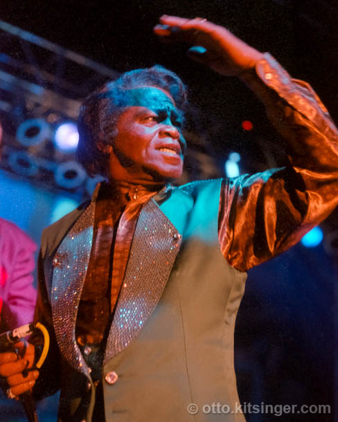 Live concert photo of James Brown