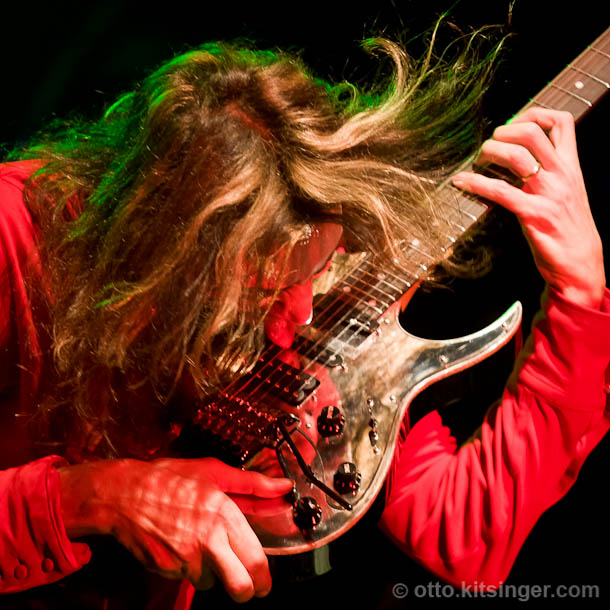 Live concert photo of Steve Vai
