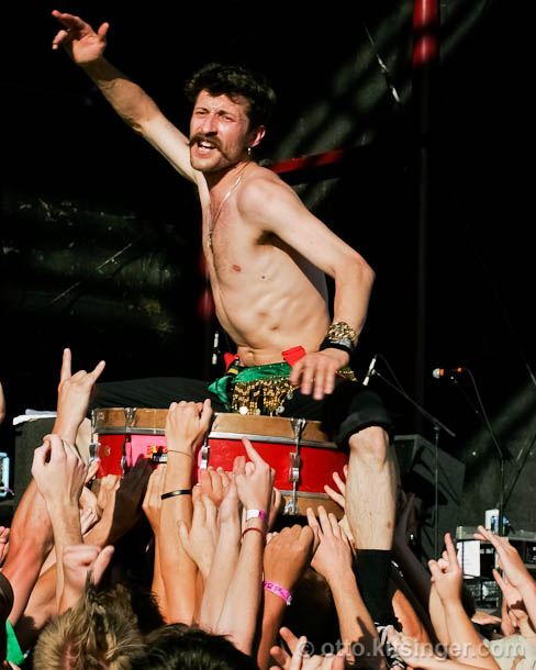 Live concert photo of Gogol Bordello