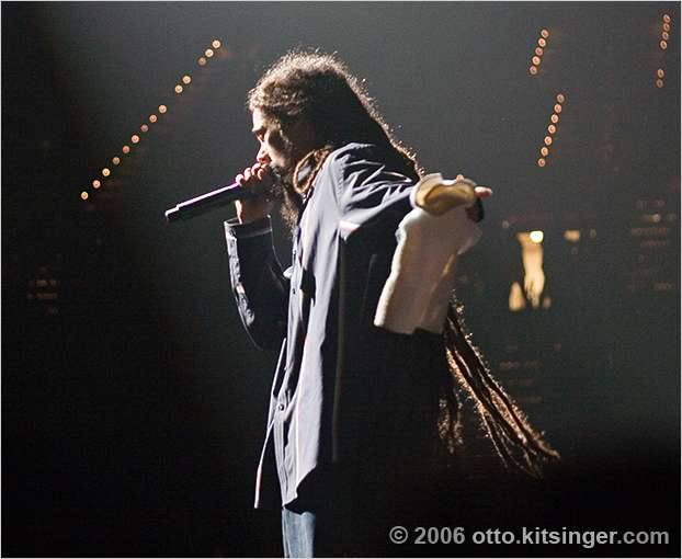 Live concert photo of Damian Marley