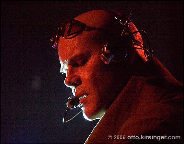 Live concert photo of Thomas Dolby