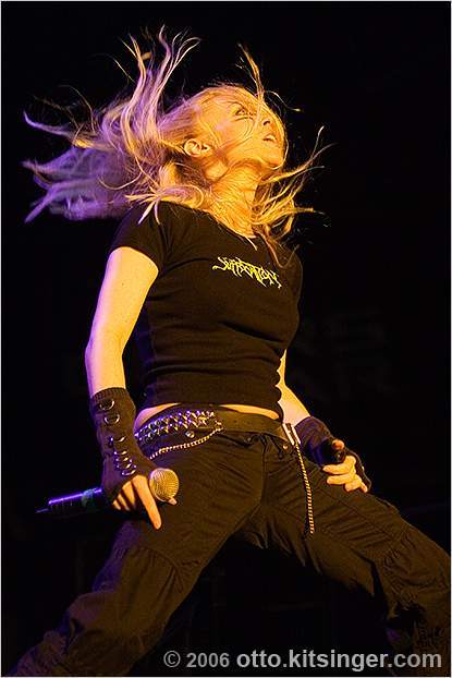 Live concert photo of Arch Enemy