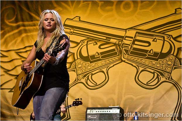 Live concert photo of Miranda Lambert