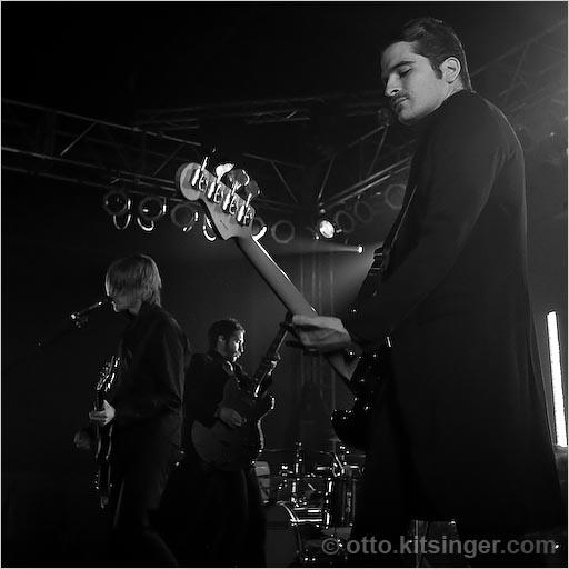 Live concert photo of Interpol