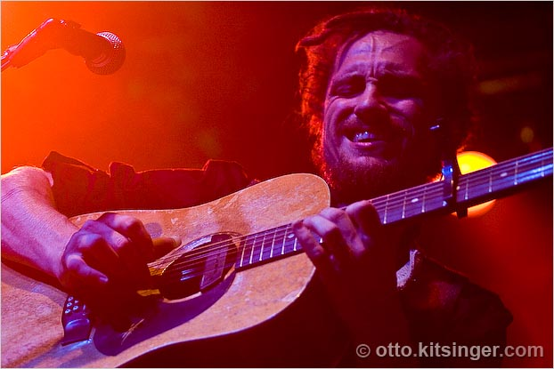 Live concert photo of John Butler Trio