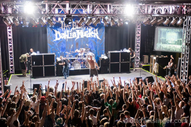 Live concert photo of The Black Dahlia Murder