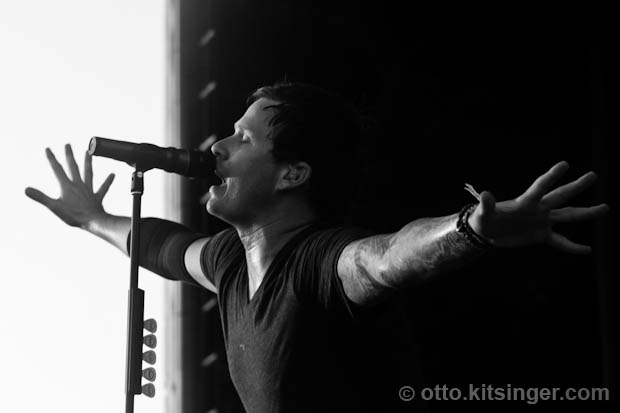 Live concert photo of Angels and Airwaves