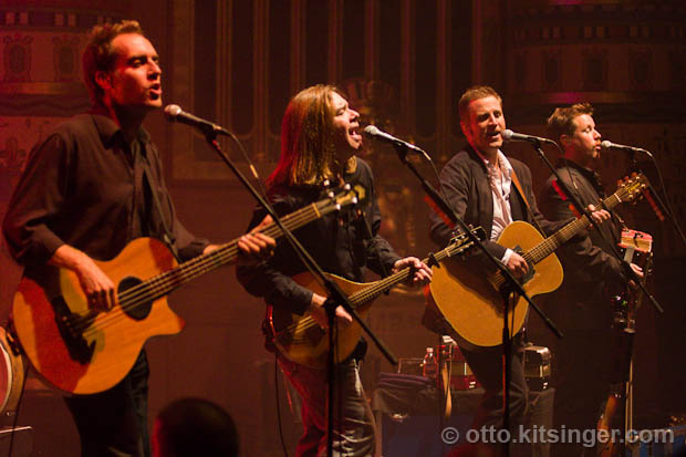 Live concert photo of Great Big Sea