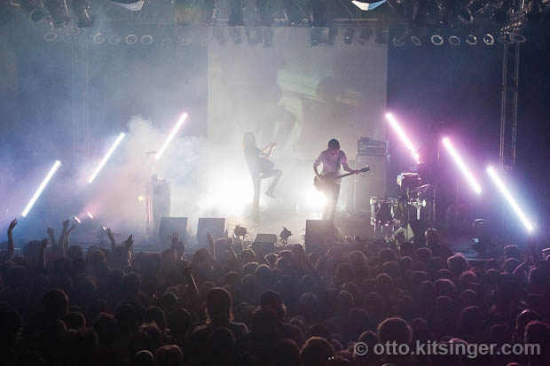 Live concert photo of Ratatat
