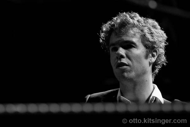 Live concert photo of Josh Ritter