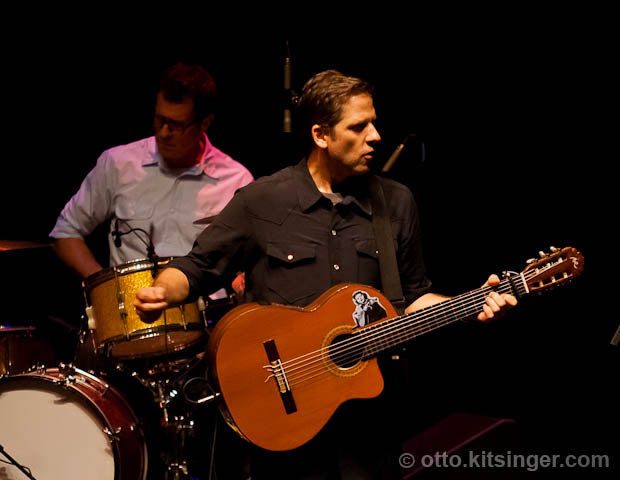 Live concert photo of Calexico